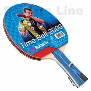 Butterfly Timo Boll 2000 TT Bat With 2 Balls