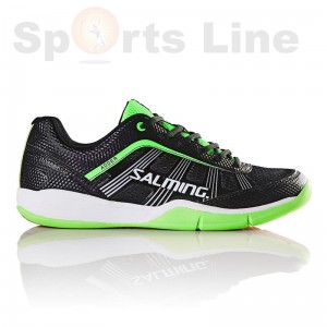 Salming Adder Men (Black/Green) Badminton Shoe