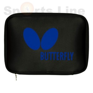 Butterfly logo case blue