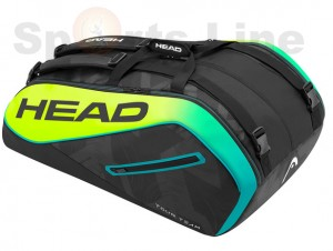 Head Extreme 12R Monster Combi Tennis Bag (Black / Yellow)