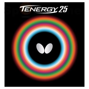 Butterfly tenergy 25 TT rubber