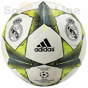 Adidas football UEFA champions league match ball replica real madrid (size-5)