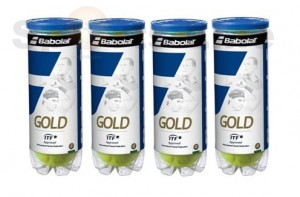 Babulat Gold Pet X3 Tennis Ball (4 Cans)