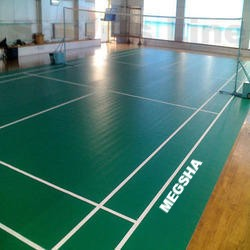 Megsha synthetic  badminton flooring