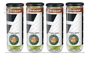 Babulat RG French Open All Court X3 Tennis Ball (4 Cans)