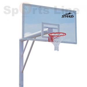 BASKET BALL POST WITH 20 MM ACL BOARD