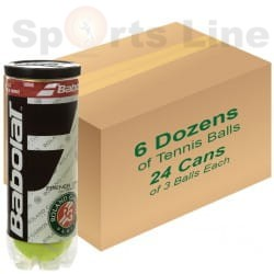 Babulat RG French Open All Court X3 Tennis Ball (24 Cans)