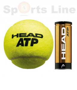 HEAD ATP Metal Can Tennis Ball (Per dozen)