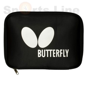 Butterfly logo case white/rose