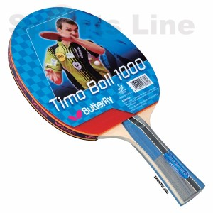 Butterfly Timo Boll 1000 TT Bat With 2 Balls
