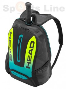 Head Extreme Backpack Tennis Bag	(Black / Yellow)