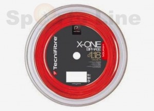 Tecnifibre X ONE BIPHASE Red 1.18 Squash String Reel