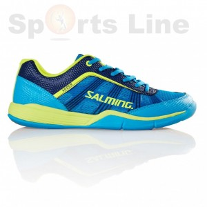 Salming Adder Men(Cyan/Safety Yellow) Badminton Shoe