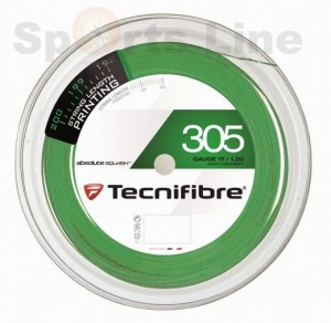 Tecnifibre 305 1.20mm Green 200m Squash Reel