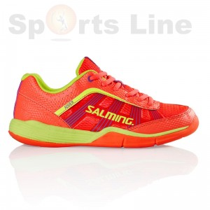 Salming Adder Women (DivaPink/SafetyYellow) Squash Shoe