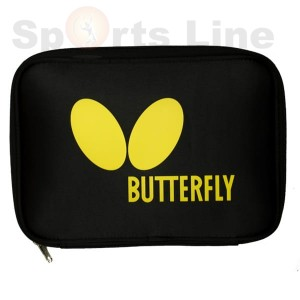 Butterfly logo case yellow